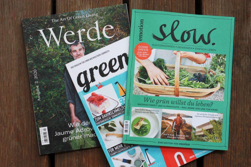 Grünes Magazin